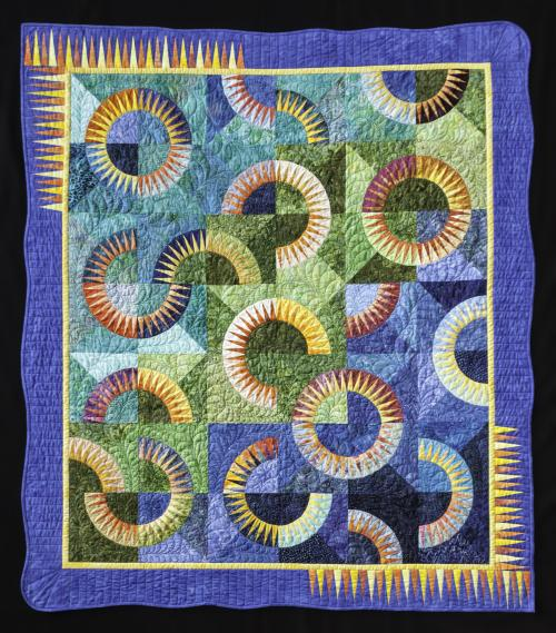 New York Beauty quilt example
